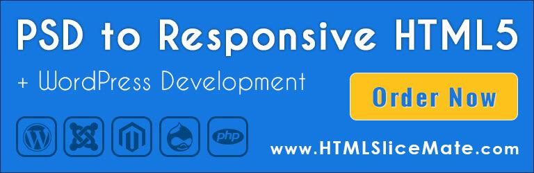 PSD to Responsive HTML5