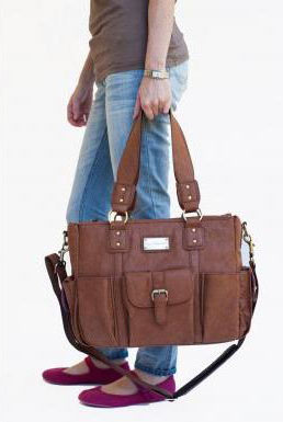 Large stylish camera bag.