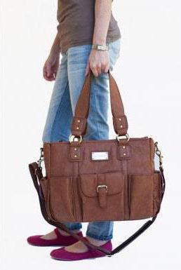 Large stylish camera bag.