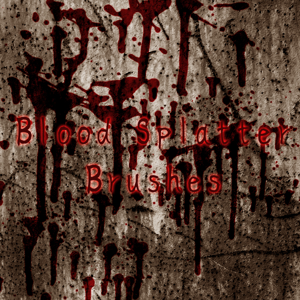 Blood Splatter Brushes