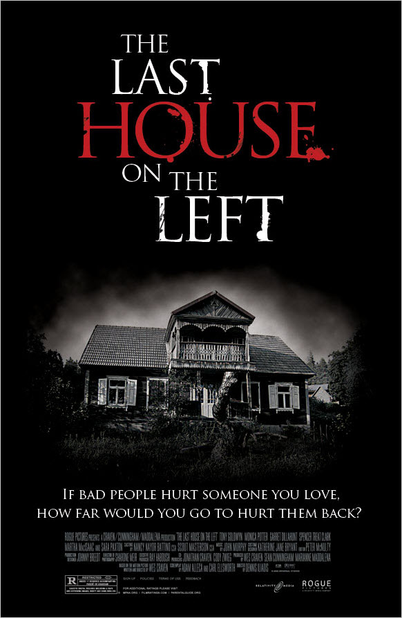 Dark Creepy Horror Movie Poster