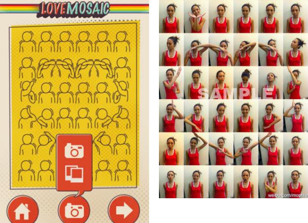 Love Mosaic App