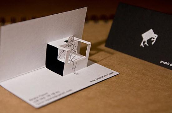 Five Unique and Creative Business Card Designs