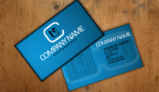 photoshop business card 1